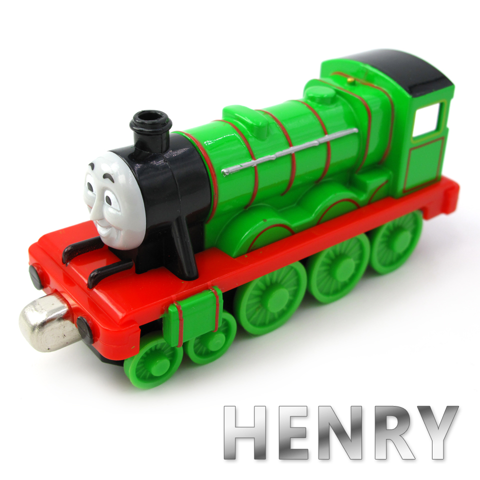 Diecasts Vehicles Thomas T068D HENRY Thomas And Friends Magnetic Tomas Truck Car Locomotive Engine Railway Train Toys for Boys