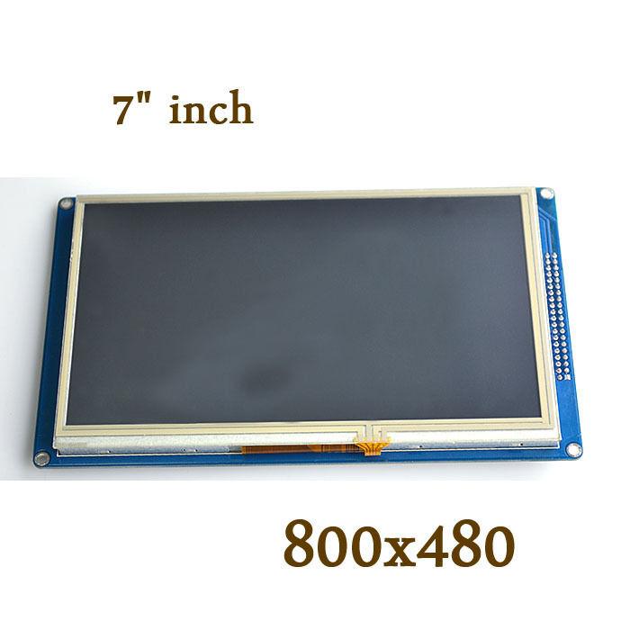 7-дюймовый TFT ЖК-дисплей, модуль 800x480 + сенсорная панель + SD для uno R3 DUE
