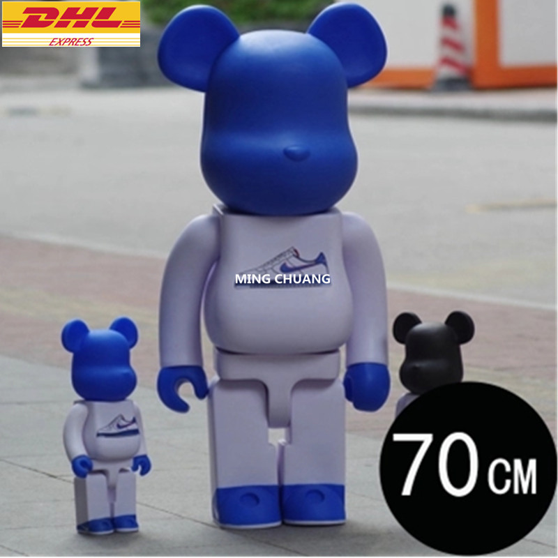 "27"" Bearbrick 1000% BB Gloomy Basic Sports Shoes Be@rbrick Vinyl Action Figure Collectible Model Toy 70CM D384"