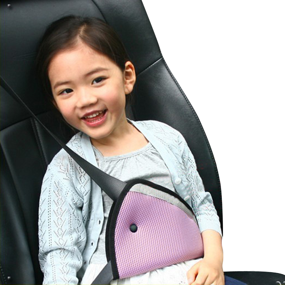 Fit car safety belt adjuster device baby child relief safety protector seat/_belt