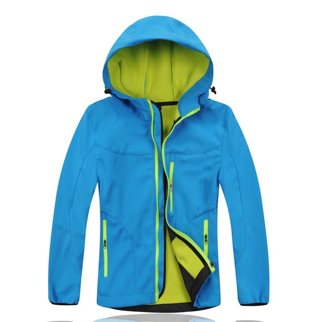 Waterproof Index 10000mm Windproof Child Coat Sporty Baby Boys Girls Jackets Warm Children Outerwear Clothing For 3 12 Years Old
