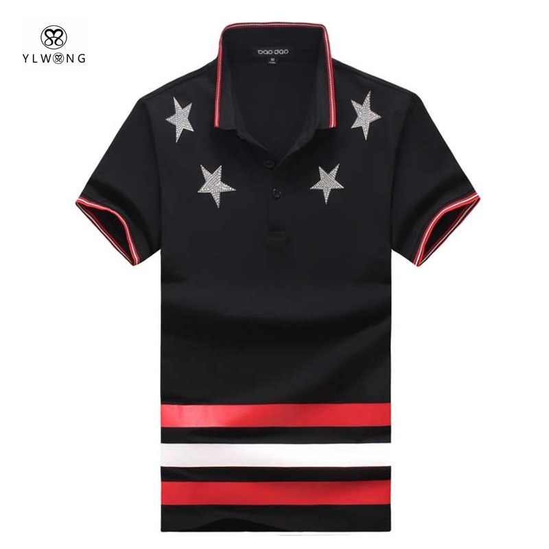 plus size polo homme 6xl 5xl mens polo shirt brand design solid color men polo shirts star. Black Bedroom Furniture Sets. Home Design Ideas
