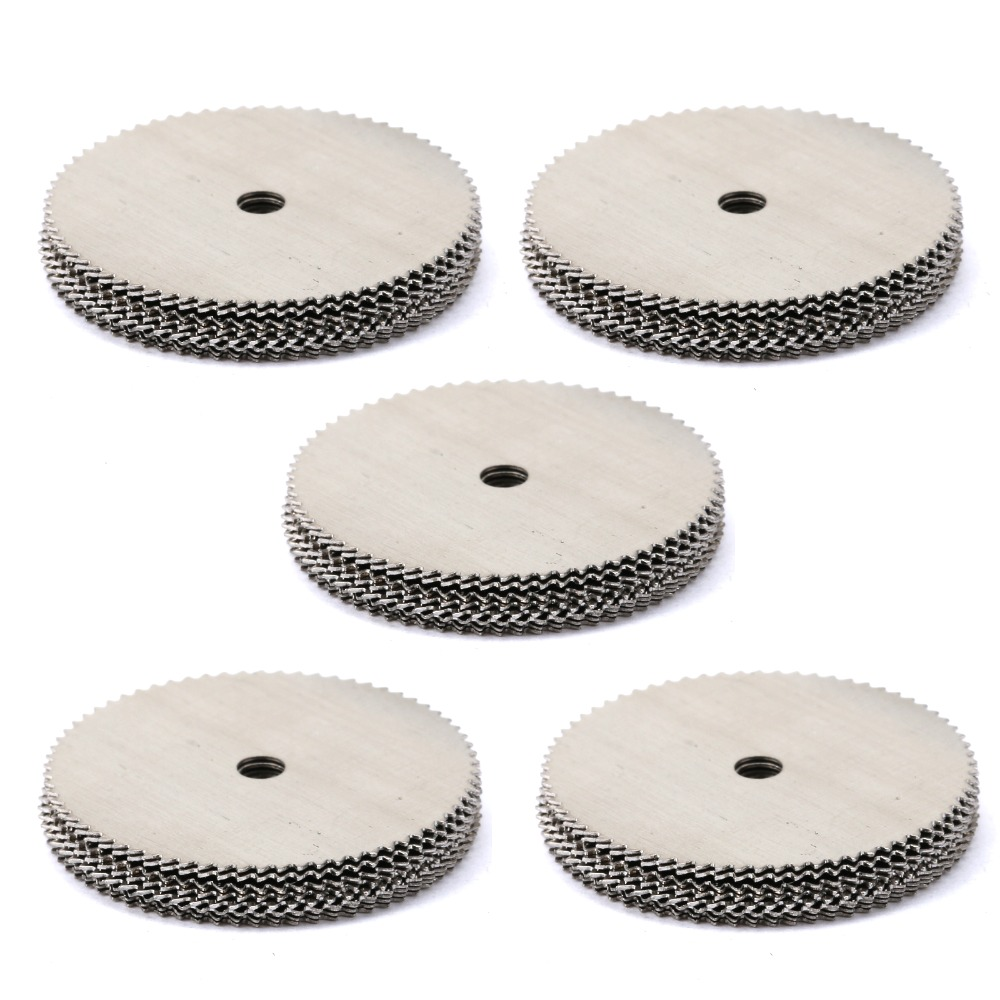 DRELD 20Pcs Wood Cutting Disc Stainless Steel Cut Off Wheel Saw Blade For Dremel Rotary Tool Woodworking Tool Dremel Accessories