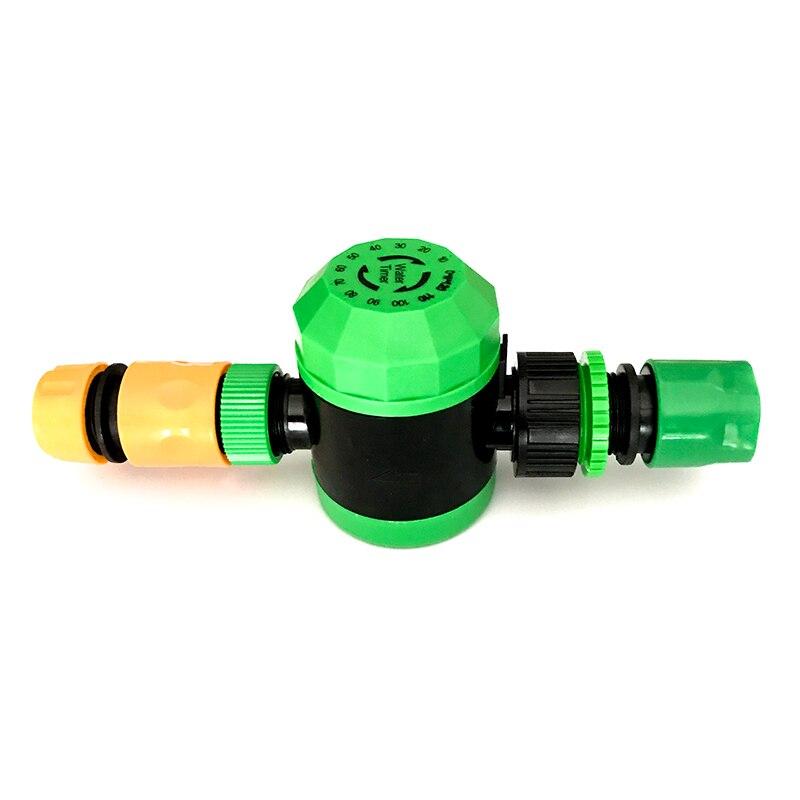 1 set (3 Pcs) 2 Heure D'eau Minuterie avec 1/2 ''ou 3/4 ''Quick Connecteur Mécanique Minuterie de L'eau jardin Micro Raccords