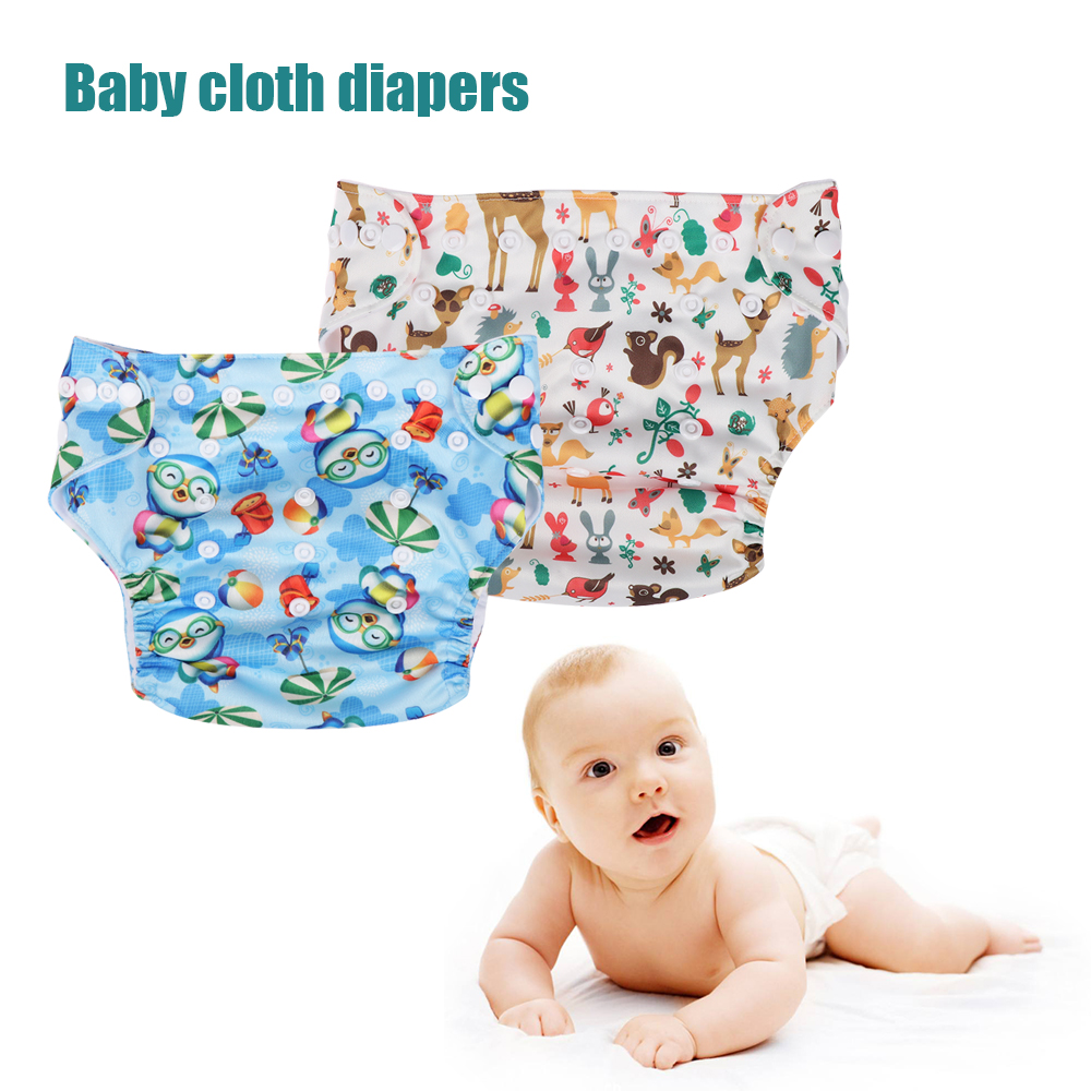 Reusable Baby Nappies Cloth Diapers Newborn Washable Merries New Born 24 S Sirenxi Diaper Cover Soft Leakproof Adjustable Breathable Pul Nappy