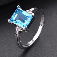 Rectangular Gemstone Ring