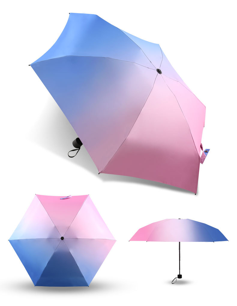 Gradiente Colorido do Guarda-chuva da Chuva Para