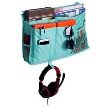 Oxford Fabric Storage Bag Waterproof Hanging Pocket Organizer Holder for Bed Rail Bedside Storage Organizer  with Pocket Bags