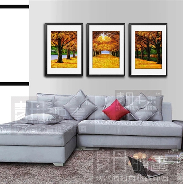 Estilo europeu de alta qualidade pintura decorativa for Sala de estar quadro