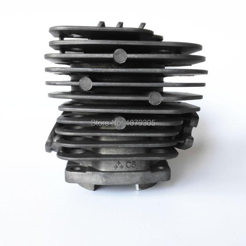 Kit cilindro a due canali 52cc per motosega e pistone diametro 45mm - Attrezzi da giardinaggio - Fotografia 3