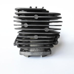 Image 3 - 52cc Chainsaw dual channel cylinder and piston full set dia 45mm 5200 Chainsaw cylinder kit