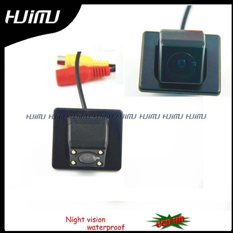 wire wireless HD LED Car Rear parking font b camera b font for sony CCD Peugeot