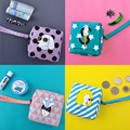 Kiitos new style  money  series  lovely Square canvas coin purse