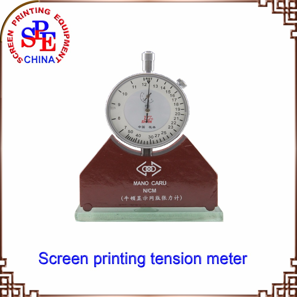 Screen printing mesh tension meter tension gauge measurement tool in silk print 7-50N new winter beanies solid color hat unisex warm grid outdoor beanie knitted cap hats knitted gorro caps for men women