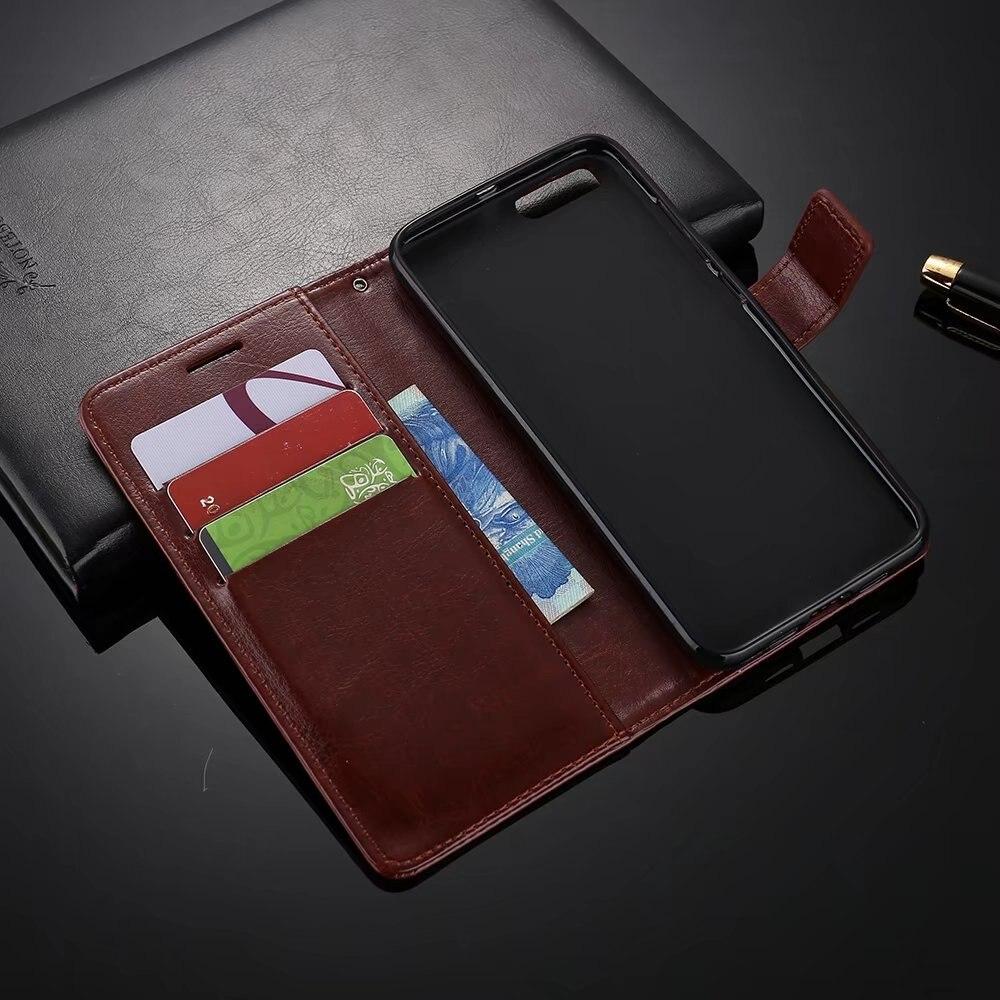bilder für 50 teile/los freies verschiffen Buch Stil Crazy Horse Linien Leder-mappenkasten Für Xiaomi MAX 2/Mi6/Mi5C