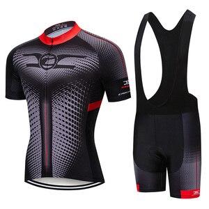 Image 2 - Crossrider 2020新ジャージセットmtb制服バイク服ロパciclismo自転車ウエア服メンズショートマイヨキュロット