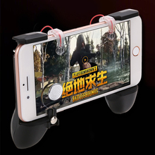 For PUBG Mobile Gamepad Controller With L1R1 Shooter Trigger Fire Button Aim Key Joystick For iOS & Android Shooting Game shooter controller joystick for pubg mobile control for ipad tablet cell phone gamepad trigger fire button l1r1 for ios android