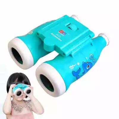 Children Telescope font b Binoculars b font Cartoon Puzzle Toys Coke Bottle Cartoon Child Telescope