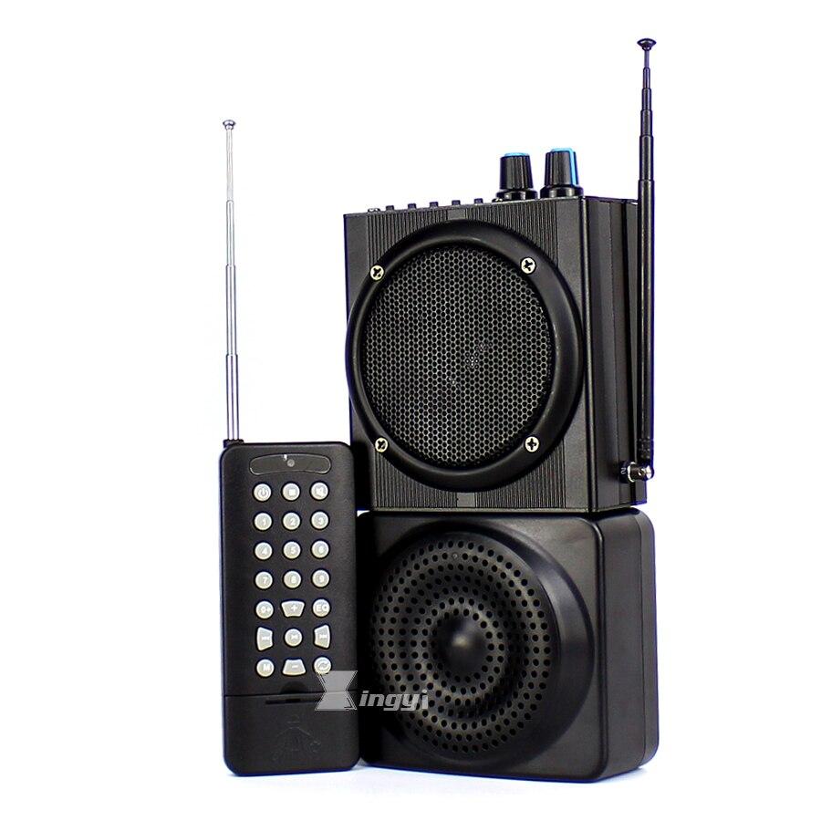 48 W 500 m Sans Fil Télécommande Numérique Chasse Oiseau Appelant Double Mini Haut-Parleur USB Lecteur MP3 Chasse Pigeon Leurre de Canard Appel dispositif