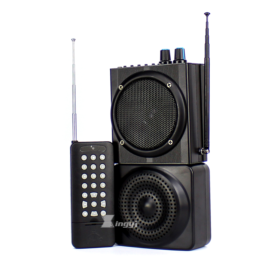 48W 500m Wireless Remote Control Digital Hunting Bird Caller Dual Mini Speaker USB MP3 Player Hunt Pigeon Decoy Duck Call Device 2 receivers 60 buzzers wireless restaurant buzzer caller table call calling button waiter pager system