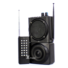 48W 500m Wireless Remote Control Digital Hunting Bird Caller Dual Mini Speaker USB MP3 Player Hunt Pigeon Decoy Duck Call Device