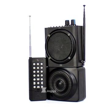 48W 500m Wireless Remote Control Digital Hunting Bird Caller Dual Mini Speaker USB MP3 Player Hunt Pigeon Decoy Duck Call Device