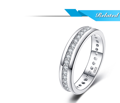 HTB1NKVEj8cHL1JjSZJiq6AKcpXaA JewelryPalace CZ Wedding Rings 925 Sterling Silver Rings for Women Stackable Anniversary Ring Eternity Band Silver 925 Jewelry