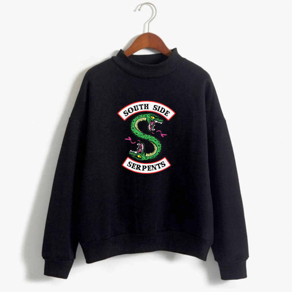 Riverdale Pink Women and men Hoodies Sweatshirts Fashion Hooded Long Sleeve Sweatshirt Casual Clothing south side serpents