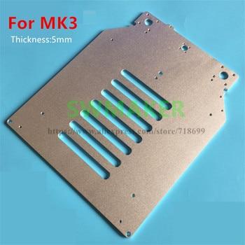 New Ultimaker3 UM2 parts heating platform Z support aluminum plate UM2 UM3 MK3 3D Printer hot bed upgrade support plate