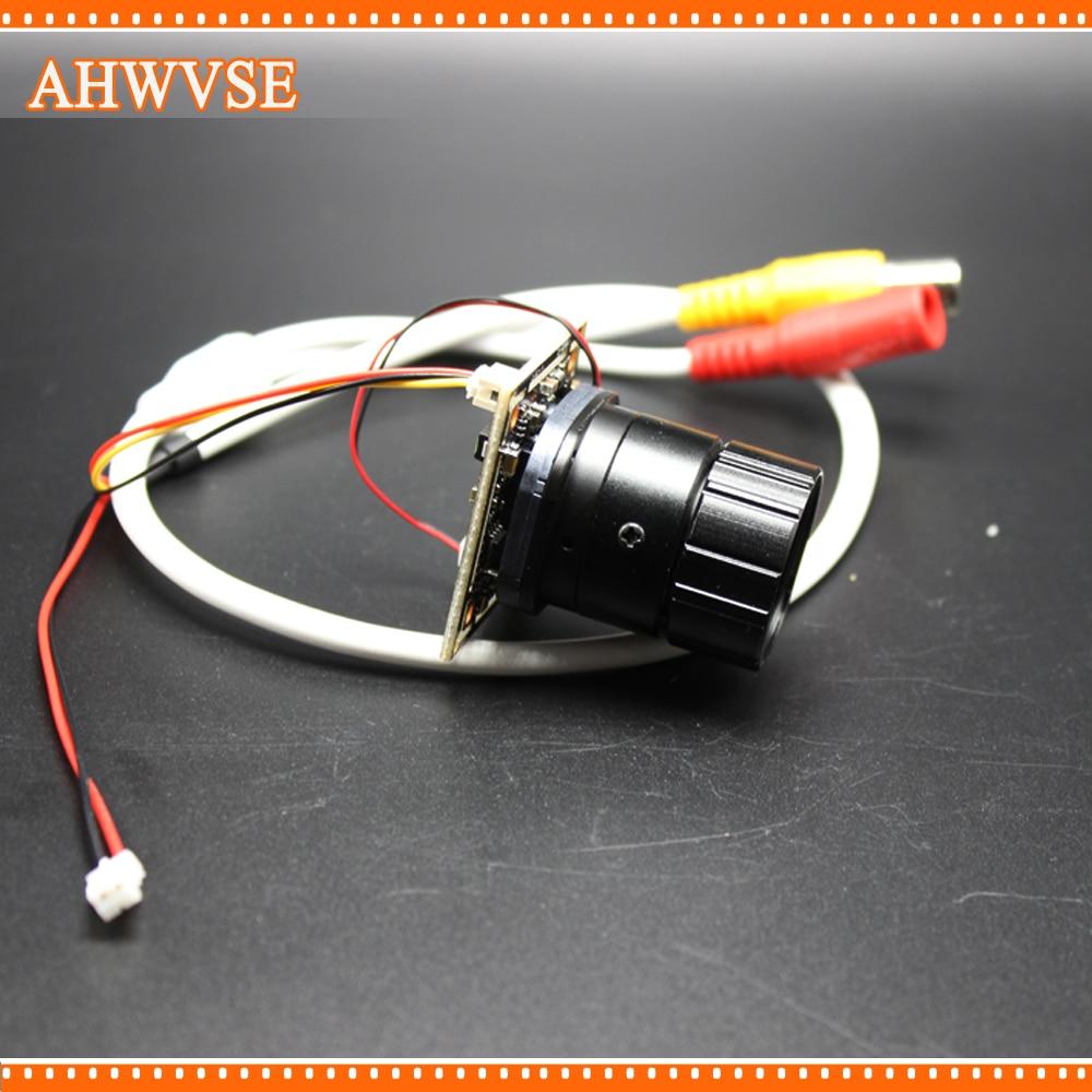 AHWVSE Vue À Longue Distance 16mm CS objectif AHD Caméra Module AHDH 1080 P Caméra de Sécurité Ultra Faible Éclairage Mini caméra