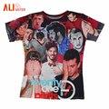 Alisister Más Reciente Unisex Harajuku Camisa de Veintiún Pilotos Camiseta de Impresión 3D Camisetas de Los Hombres/mujeres Camiseta de Verano Camisetas Mujer