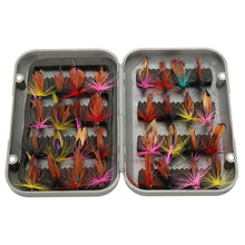 32pcs Fly Fishing Lure Set Insect Synthetic Bait Trout Fly Fishing Hooks Deal with with Field Butterfly Lure Pesca Dropshipping