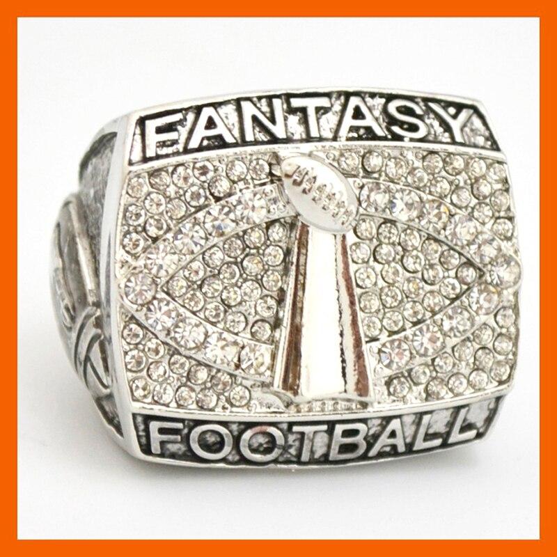 High Quality New Design fantasy Football Championship Ring Solid Souvenir Sport Rings