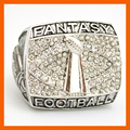 High Quality New Design fantasy Football Championship Ring Solid Souvenir Sport Rings