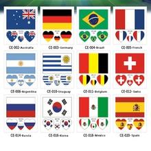 2018 Russia World Cup Tattoo Waterproof Stickers