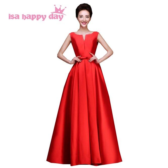 0edba0787517 Longue pourpre élégant royal bleu fuschia noir sans manches dames robes de  soirée robe femmes occasion spéciale formelle robes W2642