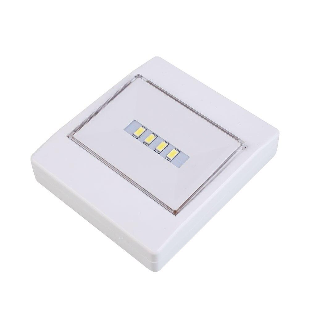 4LED Wall Lamp Sensor Light White Spot Light Induction Lighting Emergency Light Random