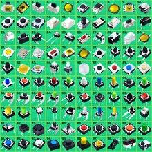 500 قطعة = 100 أنواع/حزمة متنوعة مايكرو دفع زر اللباقة التبديل إعادة تعيين ورقة صغيرة التبديل مصلحة الارصاد الجوية DIP 12*12 3*6 6*6 السفينة حرة