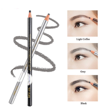 2017 Fashion Color 12pcs/Set Permanent Make-up Cosmetic Best Selling Eyebrow Pencil Waterproof 5 Eye Brow Tool For Sale