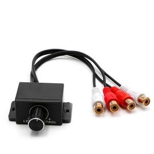 Image 5 - Car Audio Amplifier Bass RCA Level Remote Volume Control Knob LC 1 Universal