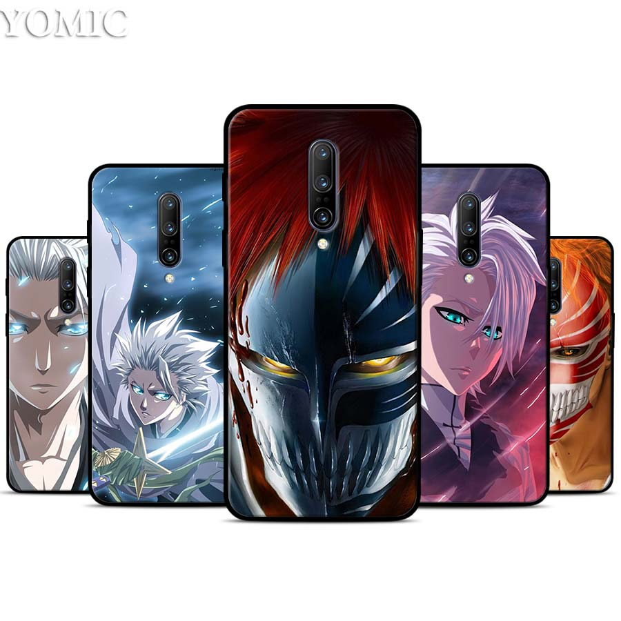 Japanese anime Bleach Silicone Case for font b Oneplus b font font b 7 b font