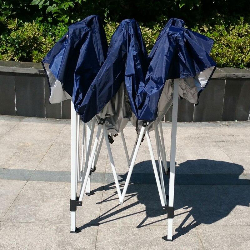 Fotografia scenic 10'x10 Barraca de Camping Dobrável Fácil Pop Up Gazebo do Dossel Pavilhão Pátio Ao Ar Livre Tenda Do Casamento Do Partido Do Evento com Saco Azul EUA Estoque - 4