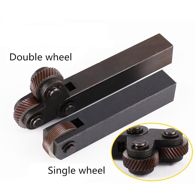 New 1PCS HSS 0.3/0.5/0.6/0.8mm/1.0mm/1.2mm/1.5mm/1.8mm/2.0mm Pitch Diagonal Coarse Knurl Wheel Knurling Roller Linear Knurl Tool