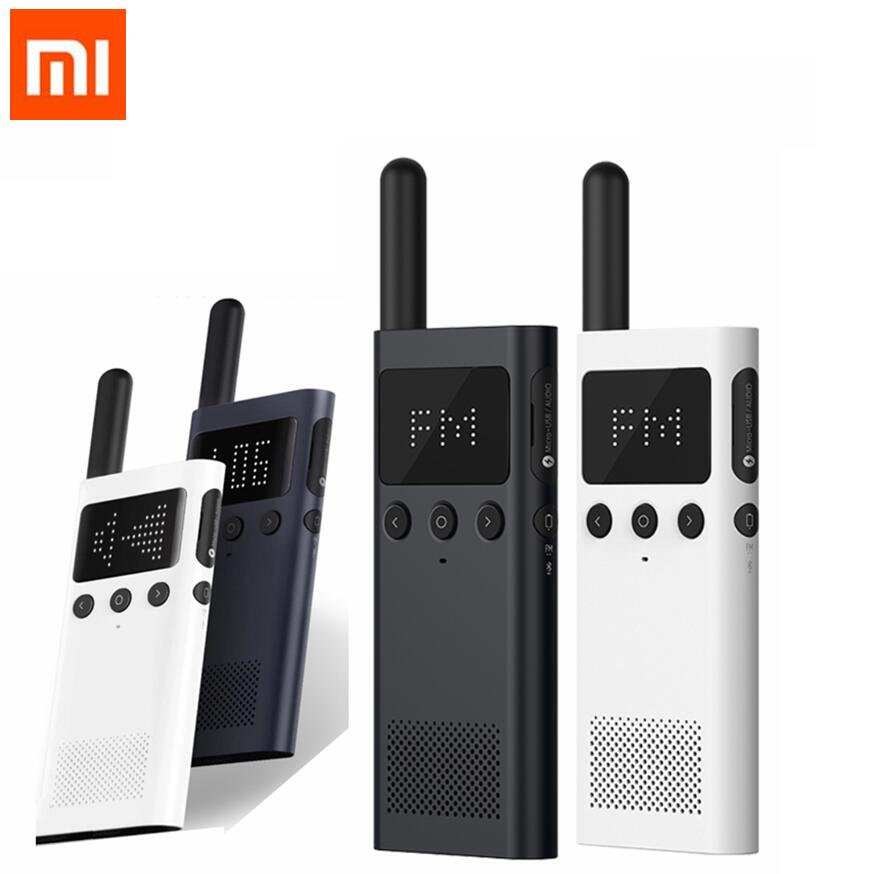 Xiaomi Mijia Smart WalkieTalkie 1S FM Radio 5 Dayds Standby Smart Phone APP Location Share Fast Team Talk Outdoor giftXiaomi Mijia Smart WalkieTalkie 1S FM Radio 5 Dayds Standby Smart Phone APP Location Share Fast Team Talk Outdoor gift
