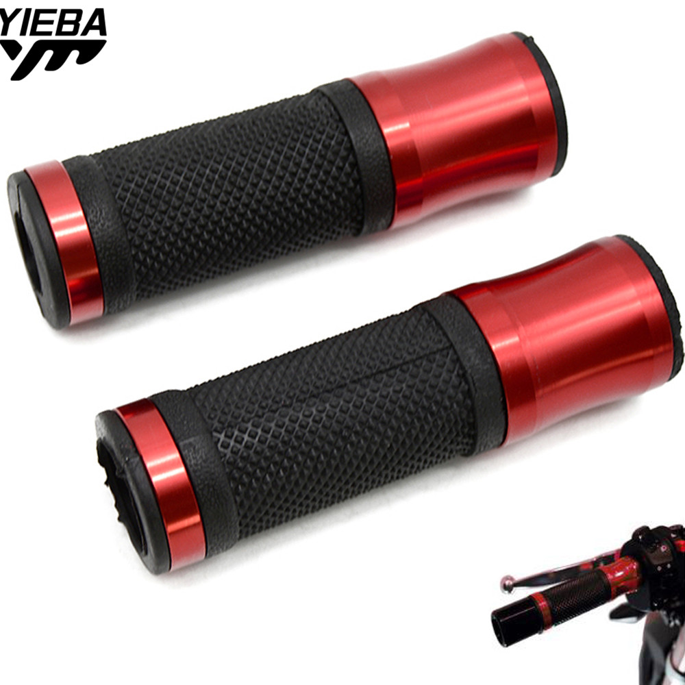 22mm Motorcycle Hand Grips Handle Hand bar ends Universal Dirt Bike for Ducati 796 MONSTER 696 MONSTER 999/S/R 749/S/R SV650