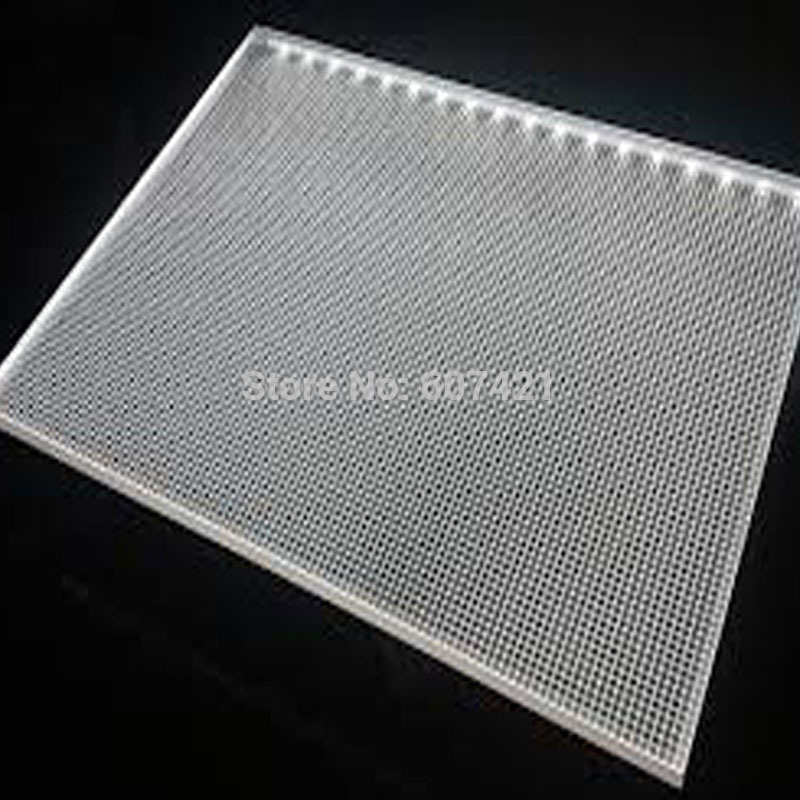 6mm single sided acrylic laser engraving light guide panel