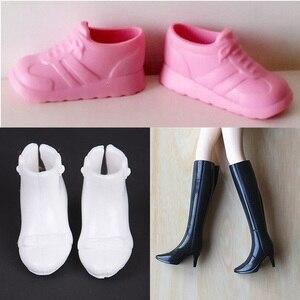1 пара красивых оригинальных туфель разных стилей для кукольной обуви, аксессуары для одежды, лучший подарок на день рождения для девочек