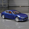 DIECAST METAL 1:32 MODEL CAR TOYS SOUND LIGHT PULL BACK MASERATI GHIBLI S Q4