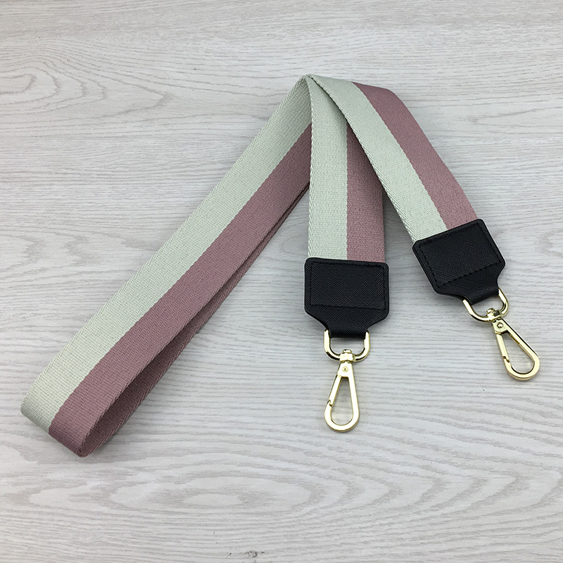 5cm Wide Shoulder Bag Straps Canvas Weave Strap Bag Fashion Handbag Crossbody Bags Handle Straps Replacement Belt Accessori