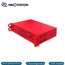 6GBe/6 * RJ45 GbE LAN Rack 1U Pfsneseไฟร์วอลล์Server Bareboneสนับสนุนi3/i5,i7 Processor,2 * SFPตัวเลือก
